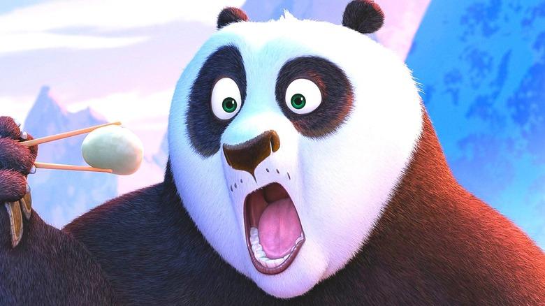 Po the Panda surprised
