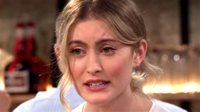 Olivia Macklin unhappy in Pretty Smart