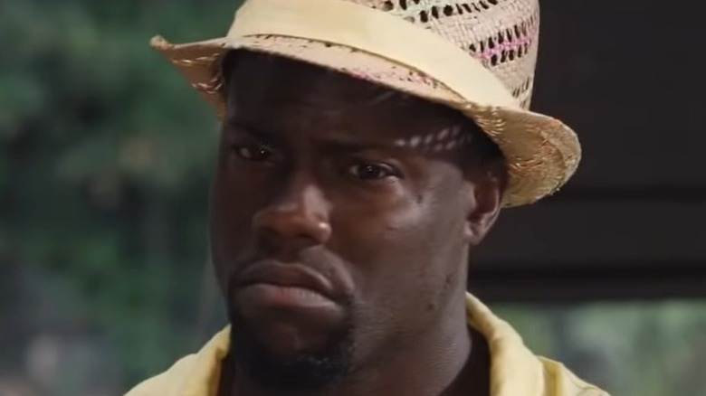 Kevin Hart looking confused