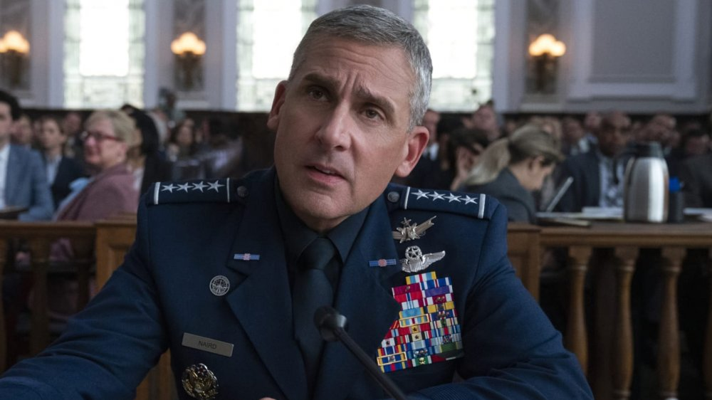Steve Carell as General Mark Naird on Space Force