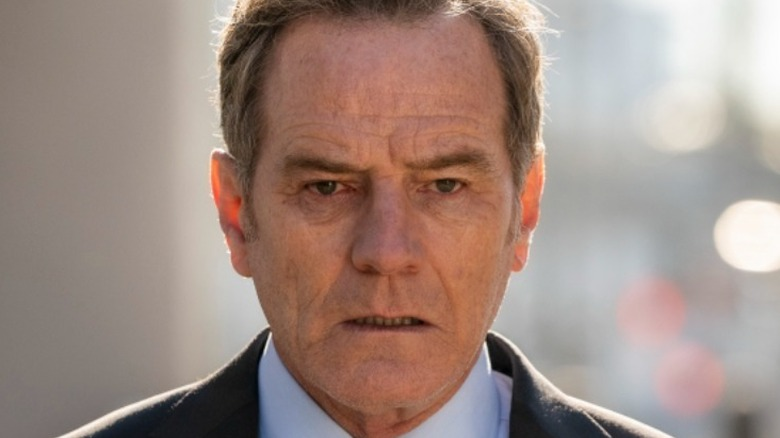 Bryan Cranston looking drained