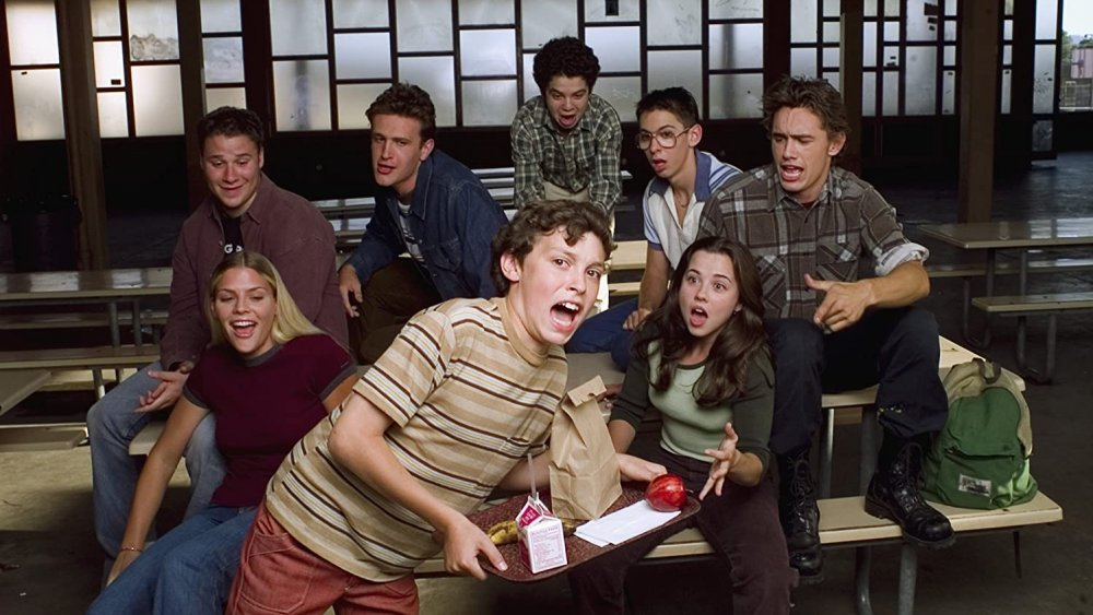 Promo photo of the cast of Freaks and Geeks