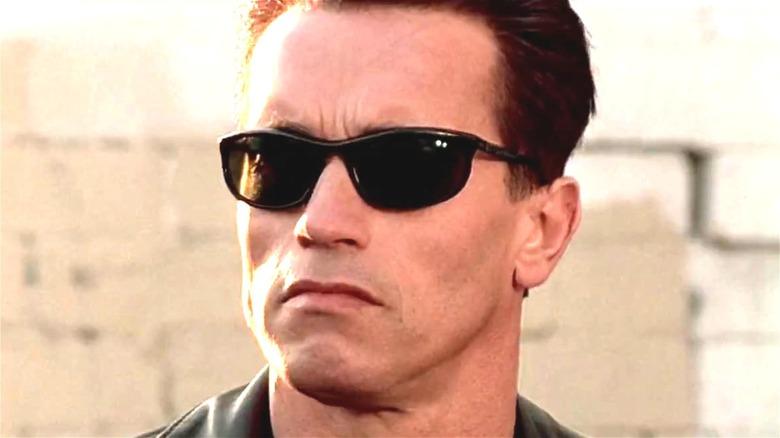 Arnold Schwarzenegger in The Terminator from 1984