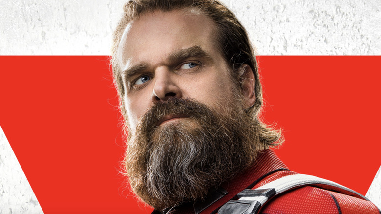David Harbour on the Red Guardian poster