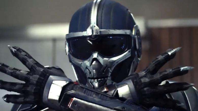 Olga Kurylenko as the Taskmaster in Black Widow