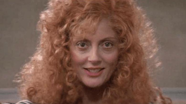 Susan Sarandon smiling Witches of Eastwick