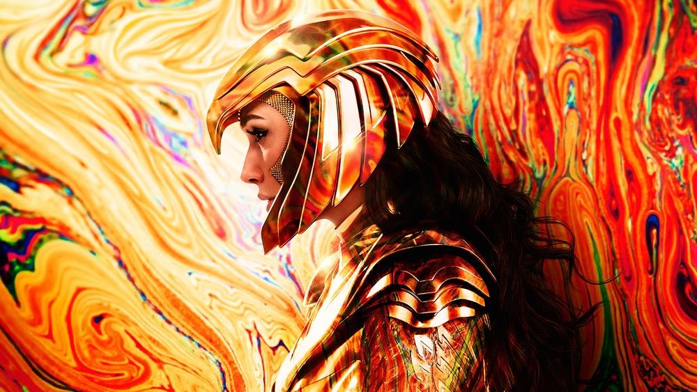 Gal Gadot Wonder Woman 1984 gold armor