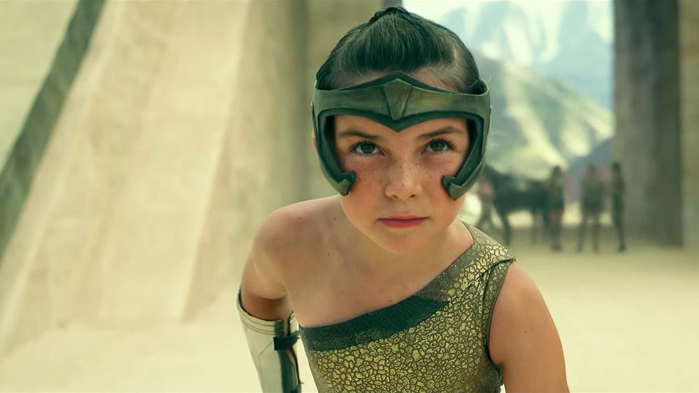 Young Wonder Woman