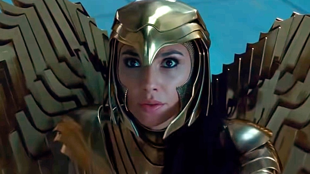 Wonder Woman in her gold armor