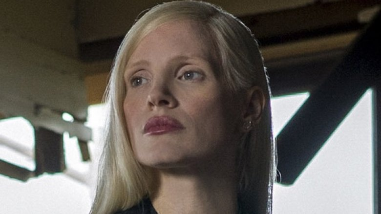 Jessica Chastain as an unknown villain, perhaps a gender-swapped Mr. Sinister, in X-Men: Dark Phoenix