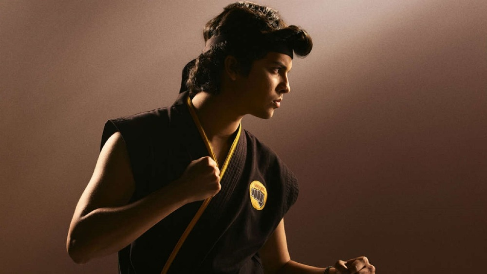 Miguel ready to fight in Cobra Kai promo image