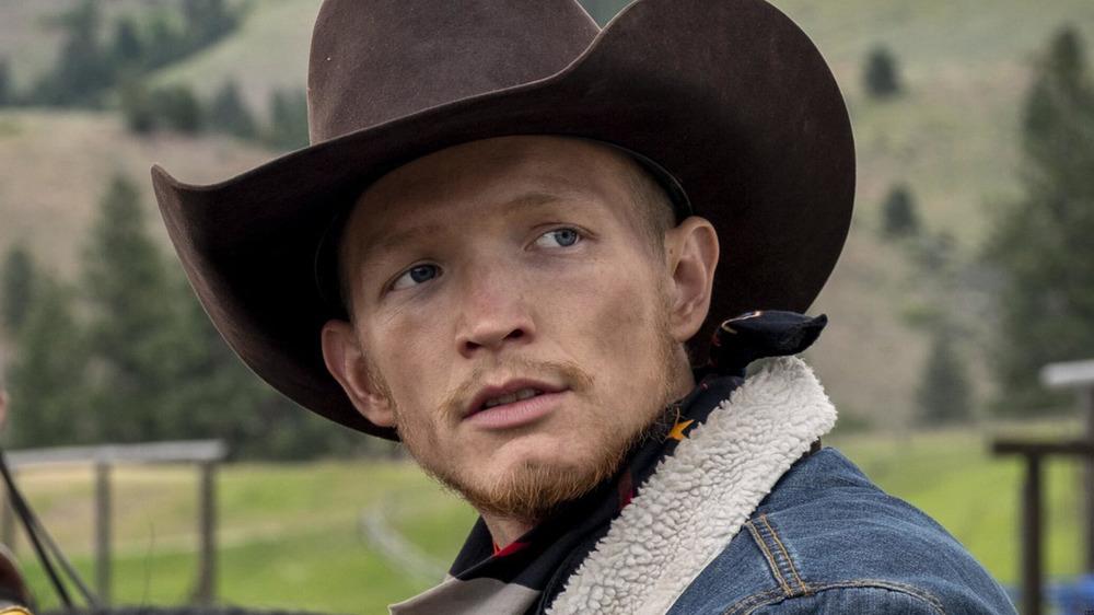Jefferson White plays Jimmy on Yellowstone