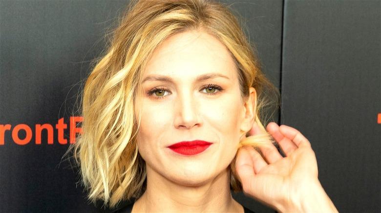 Jennifer Landon red lipstick