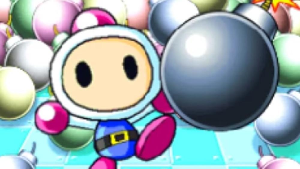 Bomberman 64 JP title screen