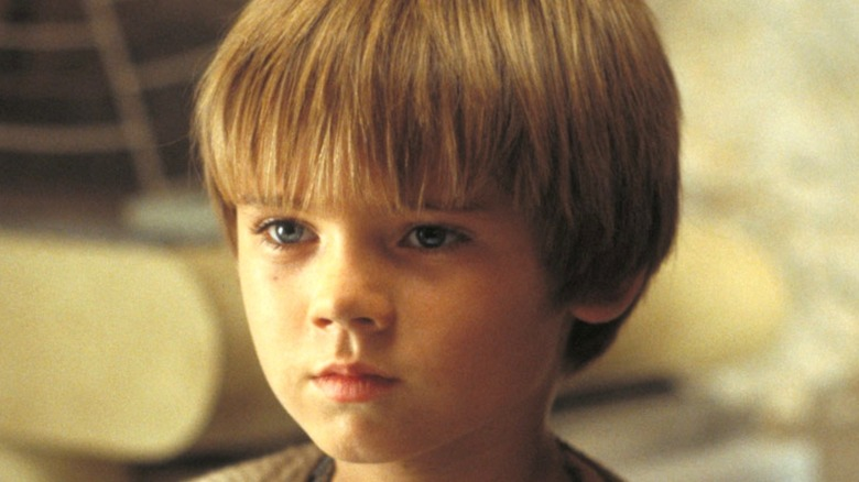 Young Anakin Skywalker in Star Wars: The Phantom Menace