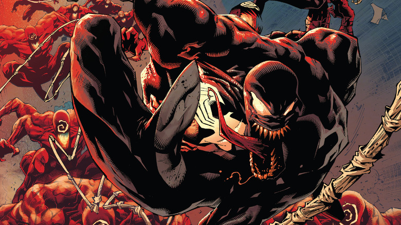 Venom on the cover of Absolute Carnage #2