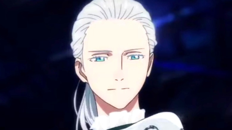 Victor frowning