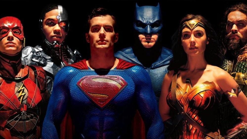 Justice League movie full team
