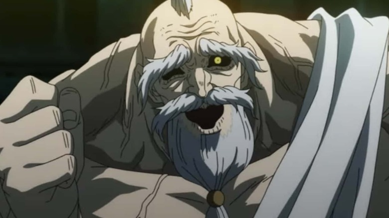 Zeus fist Record of Ragnarok
