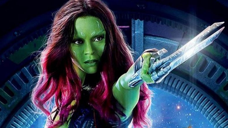 Zoe Saldana as Gamora