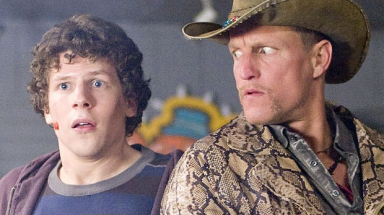 Zombieland Jesse Eisenberg Woody Harrelson